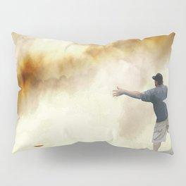 Volcano Disc Golf Pillow Sham