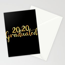 2020 Graduated Stationery Cards