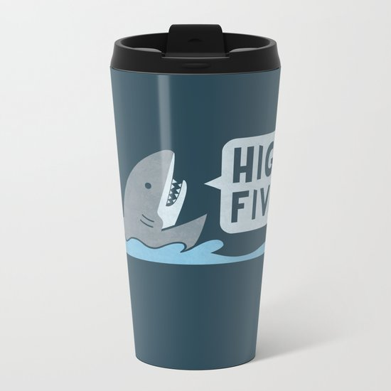 High Five Metal Travel Mug