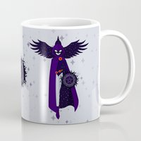 raven Mugs featuring RAVEN by badOdds