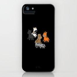 Horses Haflinger Tinker Icelandic Gift iPhone Case