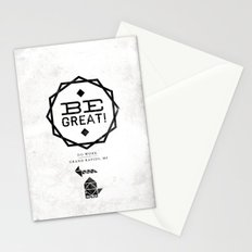 Be Great. Stationery Cards