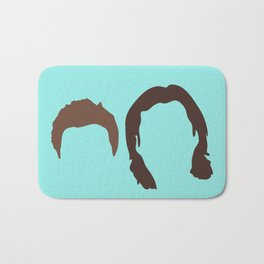 Supernatural Sam and Dean, ya'll Bath Mat