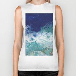Ocean Abstract Biker Tank