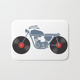 Vinyl Motorcycle Bath Mat