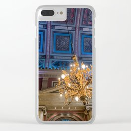painted ceiling Clear iPhone Case