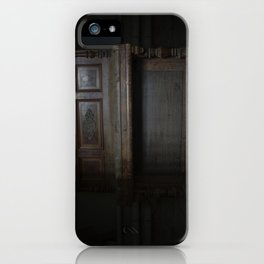 Piano in the dark iPhone Case
