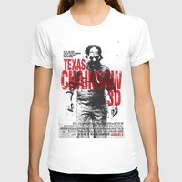 texas T-shirts featuring TEXAS CHAINSAW by Maioriz Home