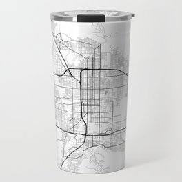 Minimal City Maps - Map Of San Bernardino, California, United States Travel Mug