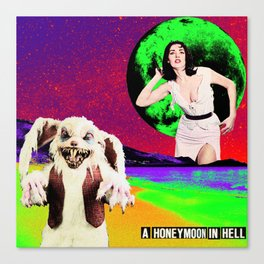 A Honeymoon In Hell Canvas Print
