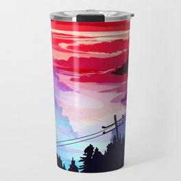 80's Sky Travel Mug