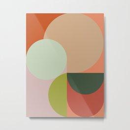 Abstract Geometric 2 #fallwinter #colortrend #decor Metal Print