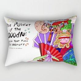 The Power of the Doodle Rectangular Pillow