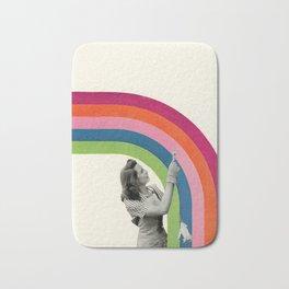 Paint a Rainbow Bath Mat