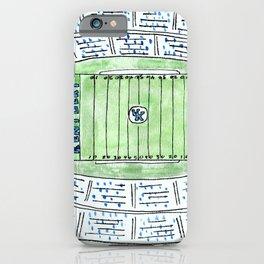 UK, Kentucky Wildcats, Football, Stadium, Lexington iPhone Case