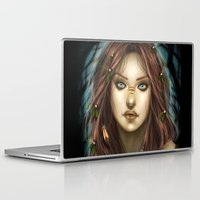 into the wild Laptop & iPad Skins featuring Wild by PiccolaRia