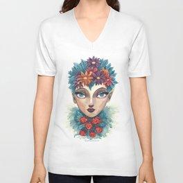 Spring Goddess Unisex V-Neck