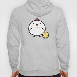 Cute chick and chicken Hoody