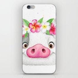 Exotic Pig iPhone Skin