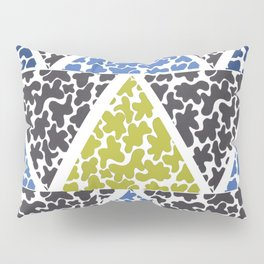 ink triangles Pillow Sham