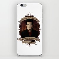 buffy the vampire slayer iPhone & iPod Skins featuring Angel - Angel/Buffy the Vampire Slayer by muin+staers