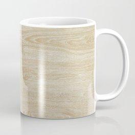 Vintage style rustic brown ivory country wood  Coffee Mug