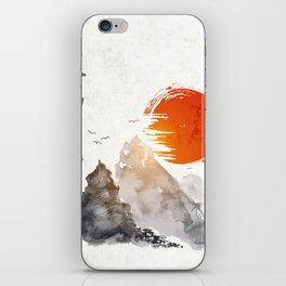 Japanese Landscape Art v6 iPhone Skin