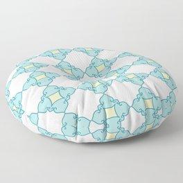 Aqua Moroccan Floor Pillow