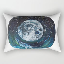 All things big and blue Rectangular Pillow
