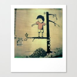 Found on the Street Canvas Print