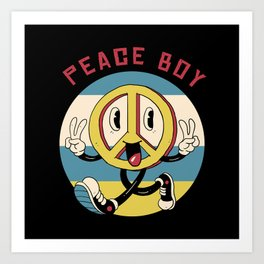 Peace Maker Art Print