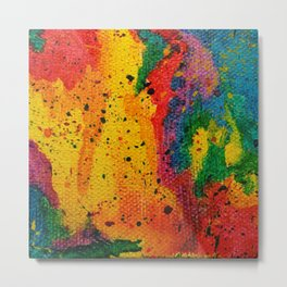 Rainbow Abstract #17 Metal Print