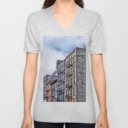 Why Not?, Lower East Side, New York City Unisex V-Neck
