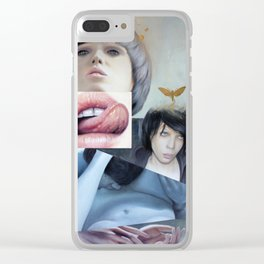 Affection Clear iPhone Case
