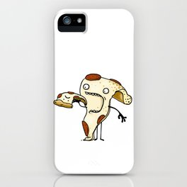 Pizza Eater iPhone Case