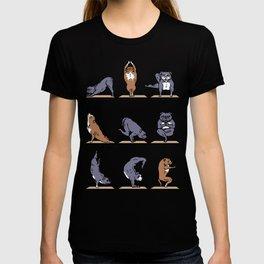 American Pit Bull Terrier Yoga T-shirt