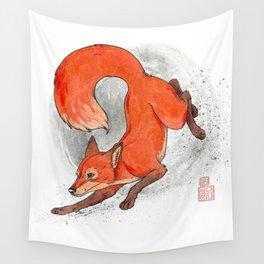Fox Neighbor Wall Tapestry