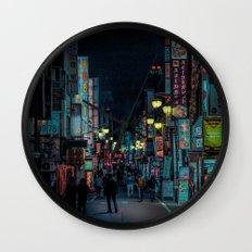 T0:KY:00 / Kabukichō Nights / Blade Runner Origins Wall Clock