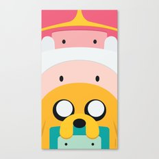 Adventure Time Totem #1 Canvas Print