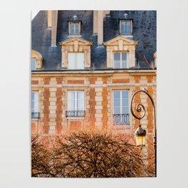 Place des Vosges Paris Poster