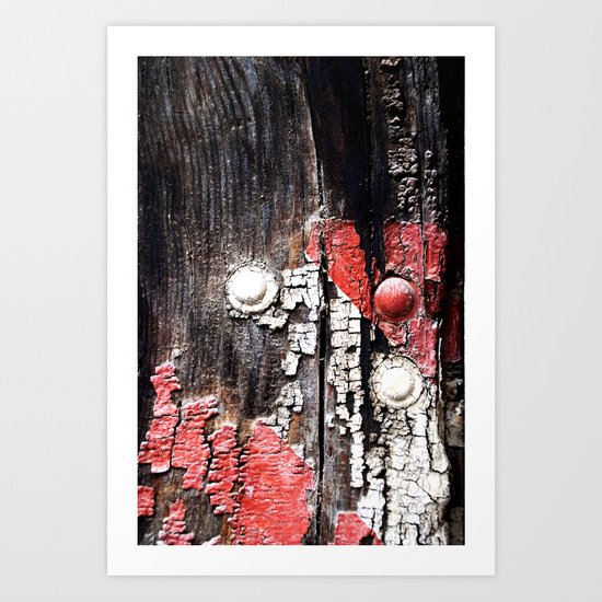 Eroded Art Print