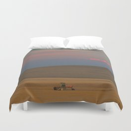 Harvest at Sunset Duvet Cover
