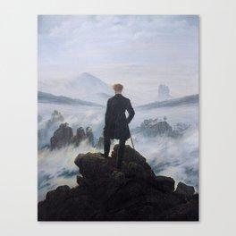 Caspar David Friedrich - Wanderer above the sea of fog Canvas Print