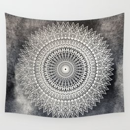 DESERT MOON MANDALA Wall Tapestry