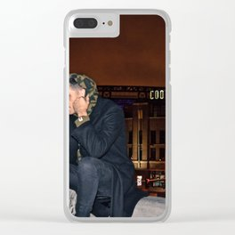 G-Eazy in Denver on Rooftop Clear iPhone Case