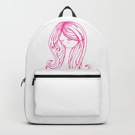 Pretty Pink Tear Backpack