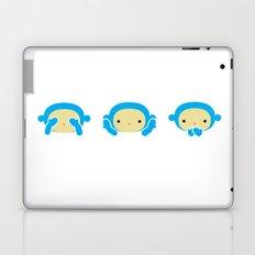 3 Wise Monkeys Laptop & iPad Skin