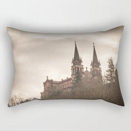 Basilica of Santa Maria la Real of Covadonga Rectangular Pillow