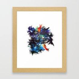 bläck Framed Art Print