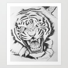 Aggression Art Print